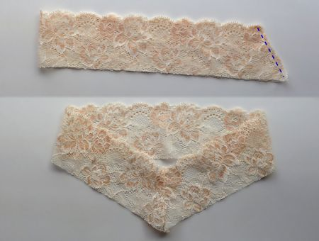 V-lace sewing