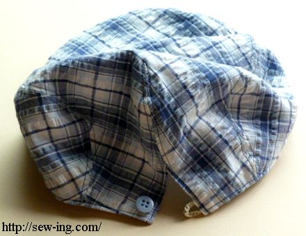 d9a9e422 With button Summer cloth cap
